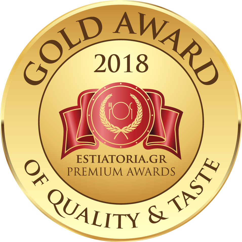 GOLD AWARD 2018 ESTIATORIA PREMIUM AWARDS